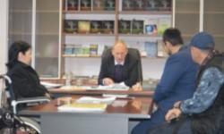 Встреча руководства с делегацией из Республики Ингушетия