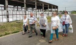 Экскурсия на юбилейную производственную площадку по молочному животноводству